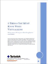 Small Business IT Virtualization